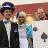 Mad Hatter, Alice, and Jack of Spades