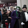 Catwoman, Bane, Harley Quinn, Joker, and Penguin