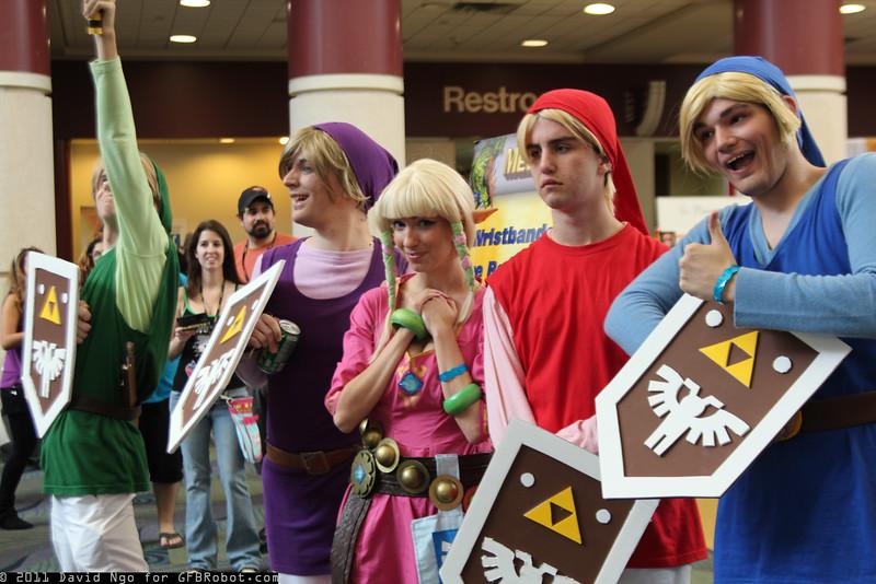 Links and Princess Zelda