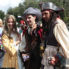 Elizabeth Swann, Will Turner, and Captain Jack Sparrow