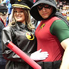 Lady Blackhawk and Robin