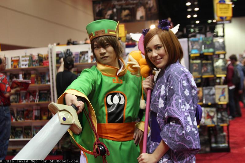 Syaoran Li and Sakura Avalon