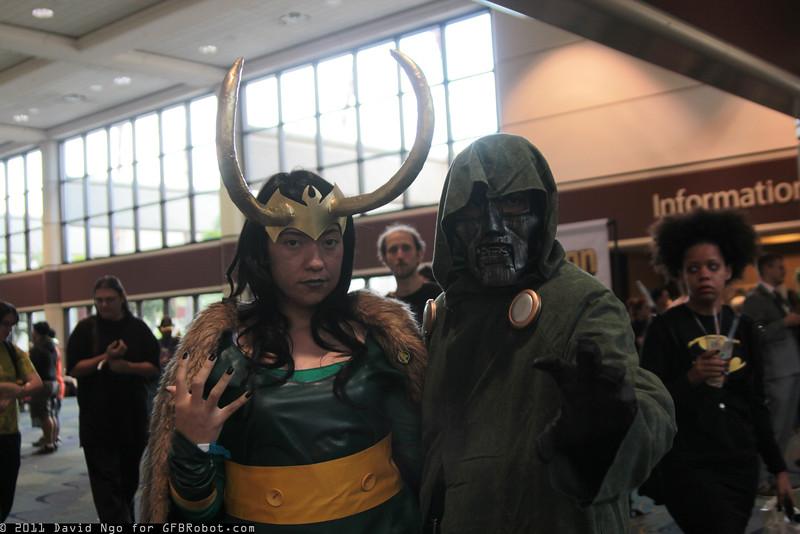 Loki and Dr. Doom