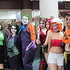 Jokers, Harley Quinn, Poison Ivy, Dee Dee, and Ghoul