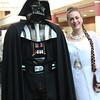 Darth Vader and Princess Leia Organa