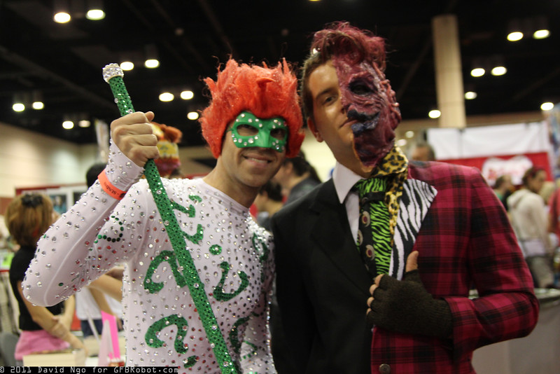 Riddler and Two-Face