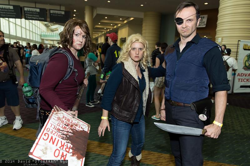 Maggie Greene, Andrea, and Governor