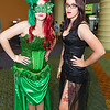 Poison Ivy and Catwoman