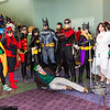 Robins, Batwoman, Batgirls, Joker, Batman, Nightwing, and Talia al Ghul