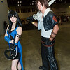 Rinoa Heartilly and Squall Leonhart