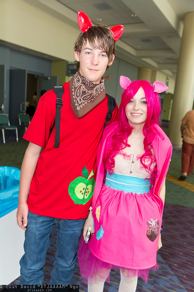 Big McIntosh and Pinkie Pie