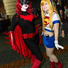 Batwoman and Supergirl