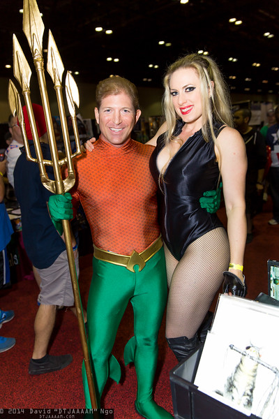Aquaman and Black Canary