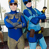 Booster Gold and Blue Beetle