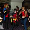 Zatanna, Miss Martian, Robin, Aqualad, and Superboy