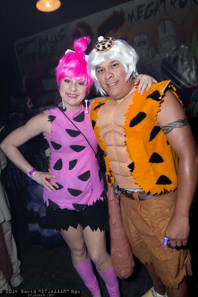 Pebbles Flintstone and Bamm-Bamm Rubble
