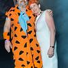 Fred Flintstone and Wilma Flintstone