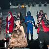 Mumm-Ra, Evil-Lyn, Baroness, Cobra Commander, Bebop, and Zartan