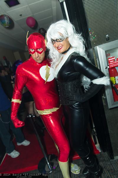 Flash and Black Cat