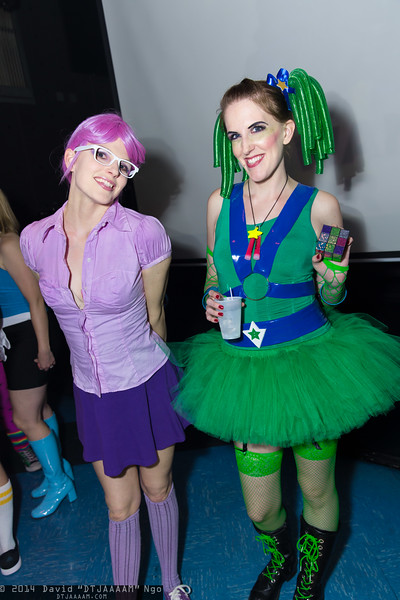 Shy Violet and Patty O'Green