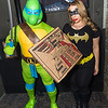 Leonardo and Batgirl