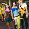 Ariel, Snow White, and Belle