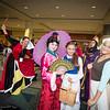 Queen of Hearts, Mulan, Belle, Queen Grimhilde, and Cinderella