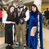 Blackfire, Cyborg, and Raven