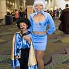 Lando Calrissian and VIP Stewardess