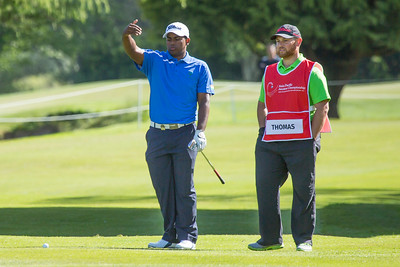 Rayhan Thomas from India on the 12 fairway on the 2nd day of competition  in the Asia-Pacific Amateur Championship tournament 2017 held at Royal Wellington Golf Club, in Heretaunga, Upper Hutt, New Zealand from 26 - 29 October 2017. Copyright John Mathews 2017.   www.megasportmedia.co.nz