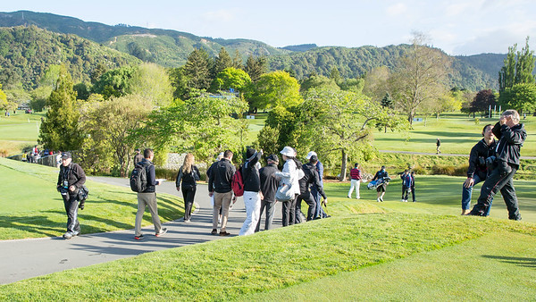 Day 2 of competition in the Asia-Pacific Amateur Championship tournament 2017 held at Royal Wellington Golf Club, in Heretaunga, Upper Hutt, New Zealand from 26 - 29 October 2017. Copyright John Mathews 2017.   www.megasportmedia.co.nz