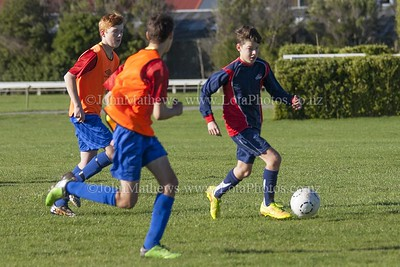 20150509 Football - U15A HIBS v Tawa College _MG_0628 WM