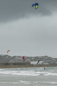 20160325 Kite Boarders at Lyall Bay, Wellington _MG_2329