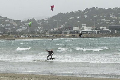 20160325 Kite Boarders at Lyall Bay, Wellington _MG_2317
