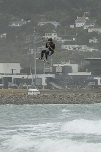 20160325 Kite Boarders at Lyall Bay, Wellington _MG_2335