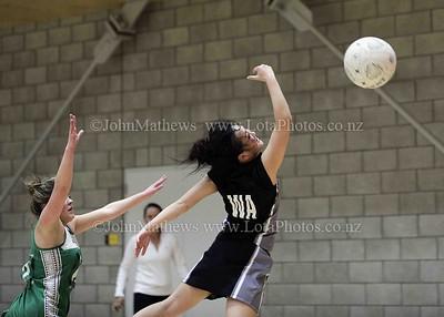 May 12 - Netball Regional Div 3 Final - HVHS v Taita