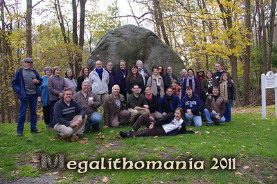 Megalithomania USA at Balanced Rock in North Salem, NY