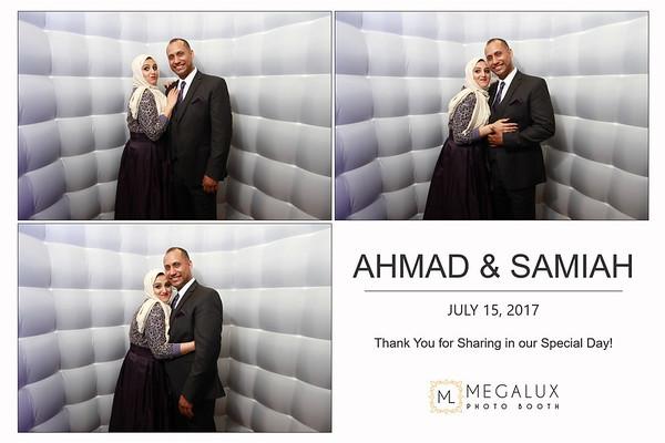 Ahmad & Samiah Wedding 07-15-17