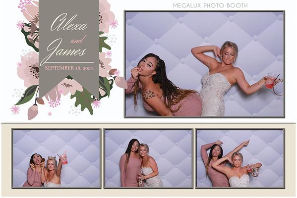 Alexa & James Wedding Reception 09-18-21