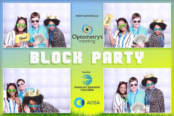 American Optometric Association Block Party - Optometry's Meeting 06-19-19