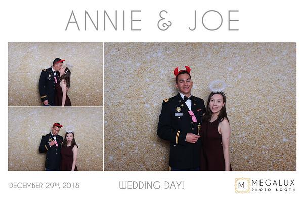 Annie & Joe Wedding 12-29-18