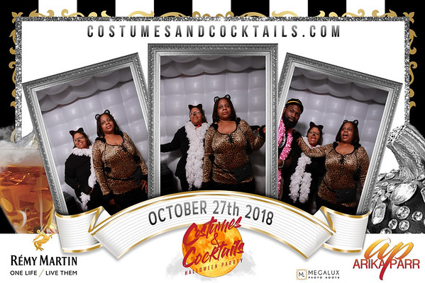 Arika Parr 6th Annual Costumes & Cocktails Halloween Party 10-27-18