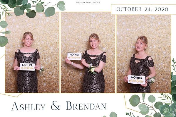 Ashley & Brendan Wedding 10-24-20