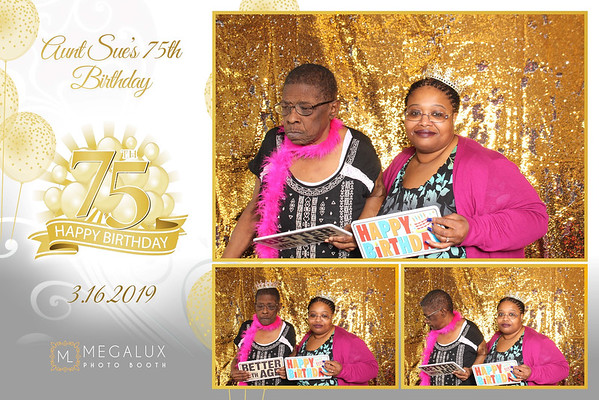 Aunt Sue's 77th Birthday 03-16-19