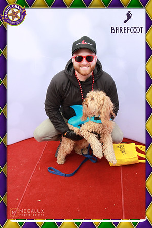 "Barefoot Wine Mardi Gras ""Beggin' Bet Parade Photo Booth 02-04-18"