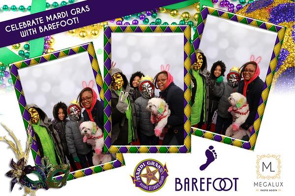 "Barefoot Wine Mardi Gras ""Beggin' Bet Parade Photo Booth 02-04-18"