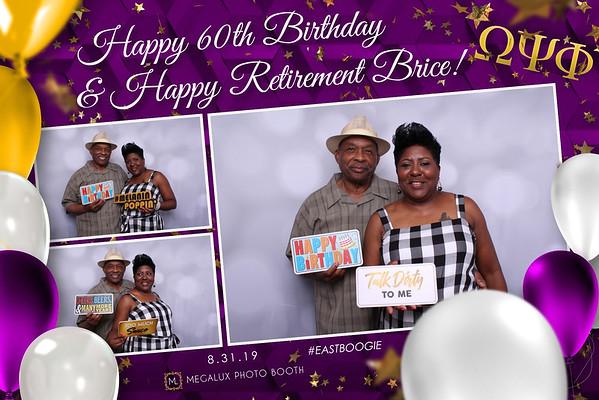 Brice's 60th Birthday & Retirement Party 08-31-19