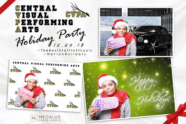 Central Visual Performing Arts Holiday Party 12-20-18
