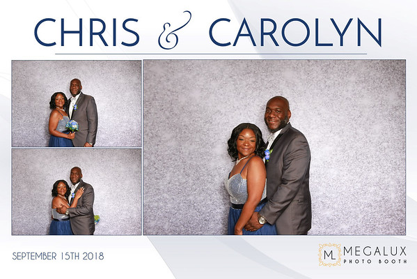 Chris & Carolyn Wedding 09-15-18