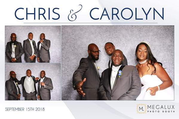 Chris & Carolyn Wedding 09-15-18